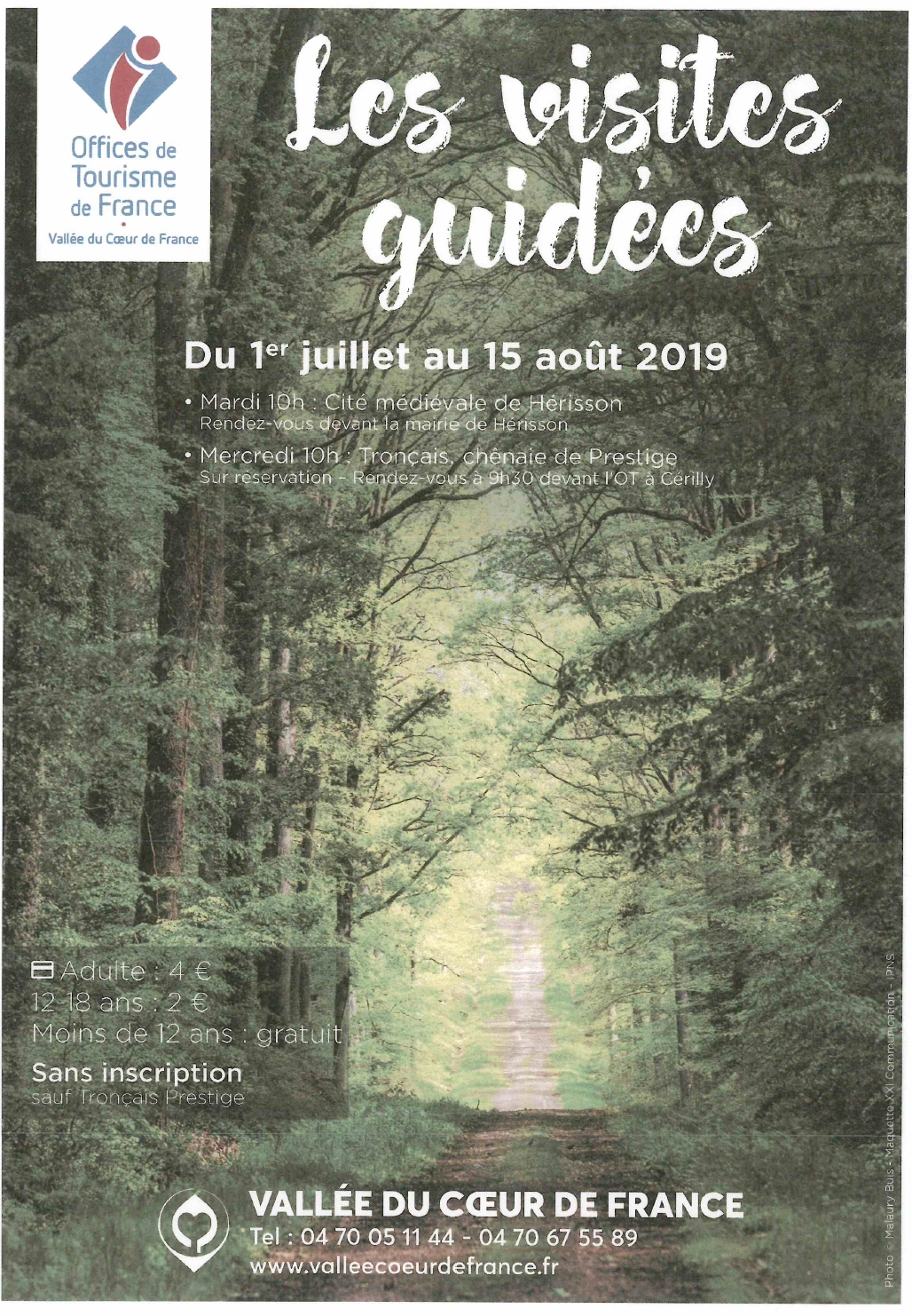LES VISITES GUIDEES